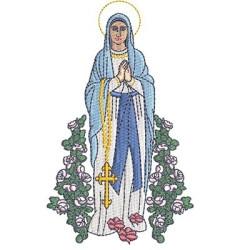 OUR LADY OF LOURDES 13 CM