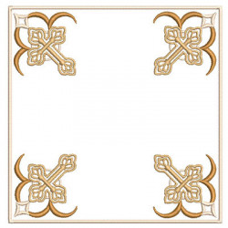 FRAME FOR PALA WITH CROSS