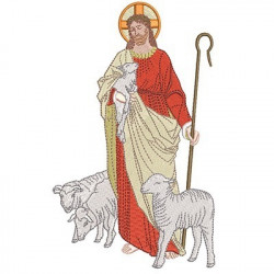 JESUS GOD SHEPHERD 20 CM