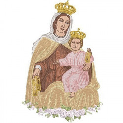OUR LADY OF THE CARMON 25 CM