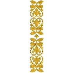 VERTICAL GOLDEN LEAF 1