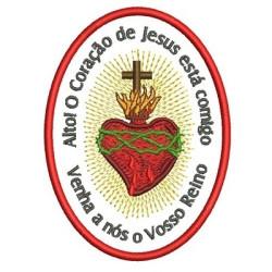 SACRED MEDAL HEART PORTUGUESE