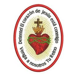 SACRED MEDAL HEART SPANISH