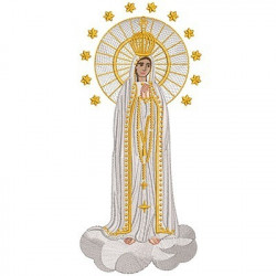 OUR LADY OF FATIMA 25 CM 3
