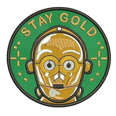 STAY GOLD C-3PO STAR WARS