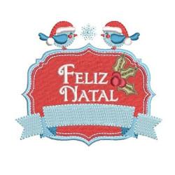 MOLDURA FELIZ NATAL 3