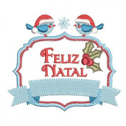 MOLDURA FELIZ NATAL 4