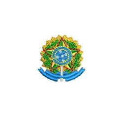 ESCUDO REPÚBLICA FEDERATIVA DO BRASIL 2,5CM
