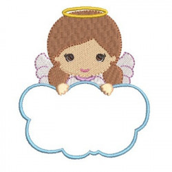 ANGEL GIRL IN CLOUD 3 RELIGIOUS