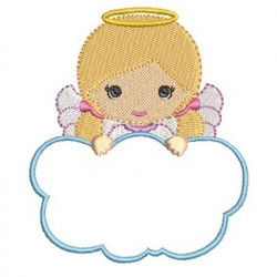 ANGEL GIRL IN CLOUD 5