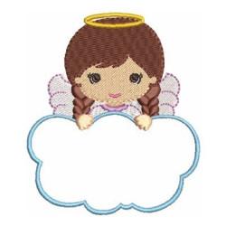 ANGEL GIRL IN CLOUD 4