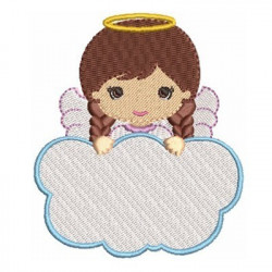 ANGEL GIRL IN CLOUD 7 RELIGIOUS