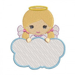 ANGEL GIRL IN CLOUD 8 RELIGIOUS