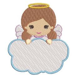 ANGEL GIRL IN CLOUD 9 RELIGIOUS