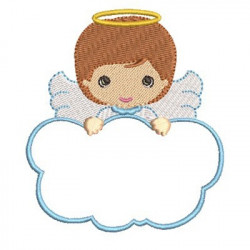 ANGEL BOY IN CLOUD 1