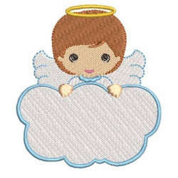ANGEL BOY IN CLOUD 10