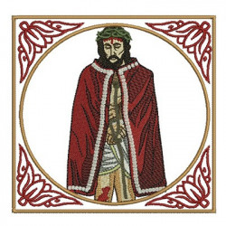 CONJUNTO ORNAMENTOS LITÚRGICOS SEÑOR BUENO JESÚS 135
