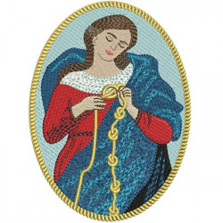 OUR LADY UNTIER OF KNOTS HOLY MEDAL