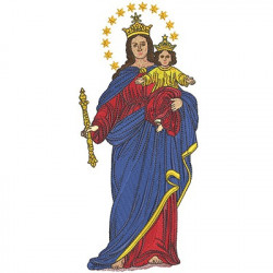 OUR LADY OF AUXILIATOR 28 CM