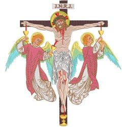 JESUS CRUCIFIED 18CM