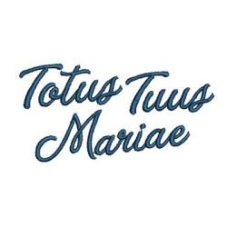 TOTUS TUUS MARIAE 2