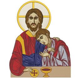 JESUS BIZANTINE 37 CM