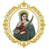MEDALHA SANTA LUZIA