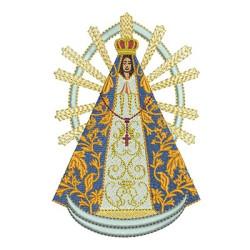 VIRGIN OF LUJÁN 12 CM
