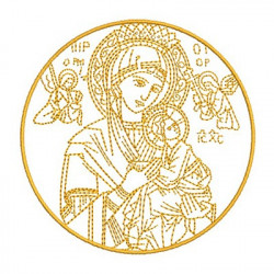 MEDAL OUR LADY OF PERPETUAL HELP