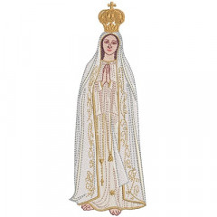 OUR LADY OF FATIMA 22 CM
