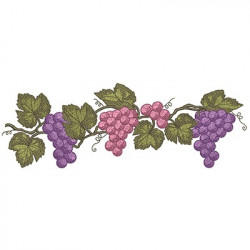 BRANCH OF GRAPES 30 CM