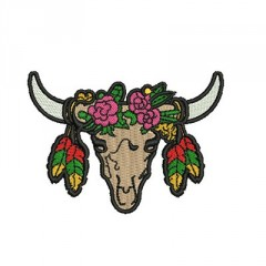 SKULL COW PATCH