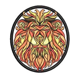LION MEDAL PATCH
