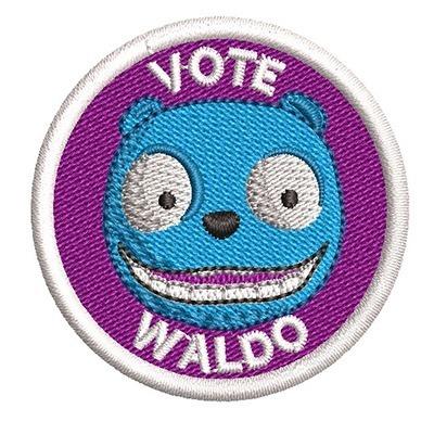 VOTE WALDO - BLACK MIRROR