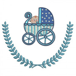 BABY CART IN FRAME