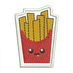 BATATA FRITA CUTE PATCH