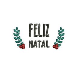 MOLDURA FELIZ NATAL