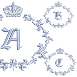 PAQUETE 5 ALFABETO 12CM