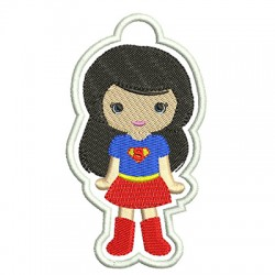 KEY CHAINS SUPERGIRL