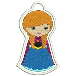 KEY CHAINS ANNA PRINCESS