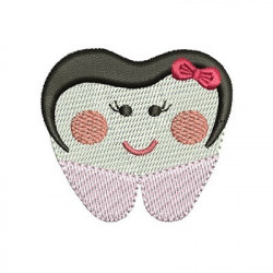 TOOTH GIRL CUTE