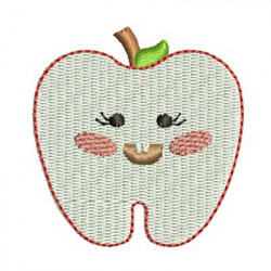 TOOTH CUTE APPLE