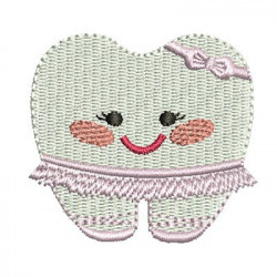 TOOTH BALLERINA CUTE KAWAII