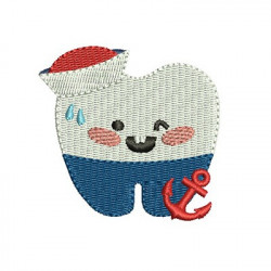 TOOTH SAILOR CUTE