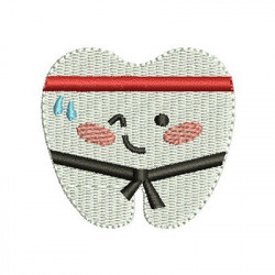 TOOTH JUDOKA CUTE