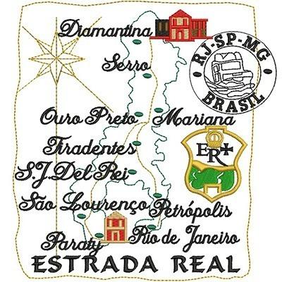 MAPA ESTRADA REAL 1