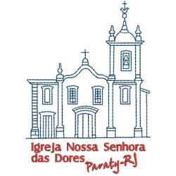 PARATY BRAZIL CHURCH 2