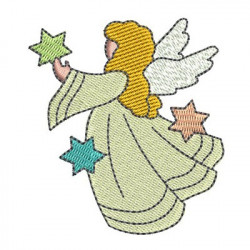 ANGEL WITH STARS