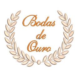 MOLDURA BODAS DE OURO 1