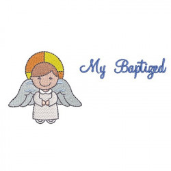 ÁNGEL CON MY BAPTIZED 3